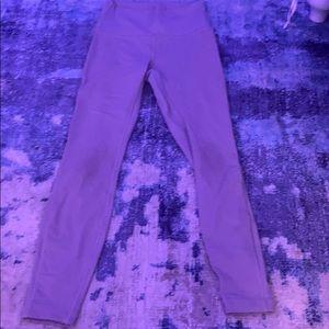 Light purple Lululemon wonder under leggings
